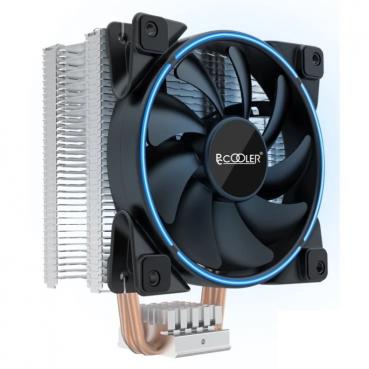Кулер для процессора PCcooler GI-X3B V2 синяя  LED подсветка
