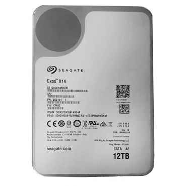 Жесткий диск Seagate 12000Gb ST12000NM0538 EXOS X14