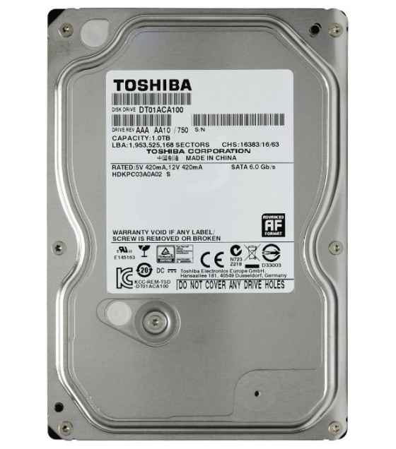 Жесткий диск Toshiba 1000Gb DT01ACA100