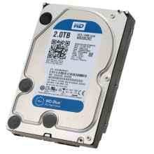 Жесткий диск Western Digital 2000Gb Blue WD20EZRZ