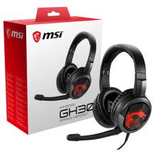 Компьютерная гарнитура MSI Immerse GH30 черный