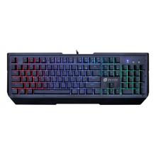 Клавиатура Oklick 900G механическая черный USB Multimedia for gamer LED