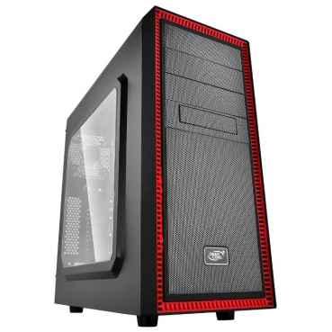 Компьютерный корпус Deepcool Tesseract SW Red