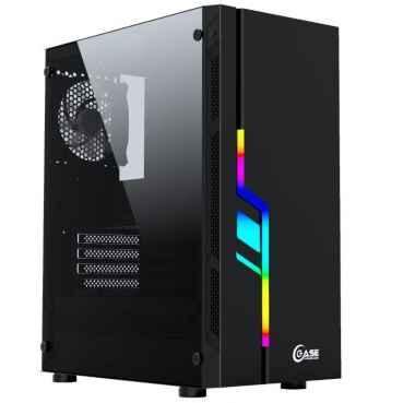 Компьютерный корпус PowerCase Maestro Z3 Black RGB CMAZB-F3