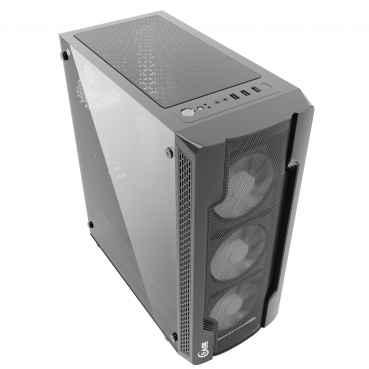 Компьютерный корпус PowerCase Mistral X4 Mesh Black CMIXB-F4