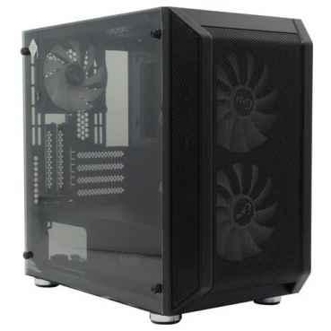 Компьютерный корпус PowerCase Mistral Micro H3B Mesh LED Black CMIMH3B-L3
