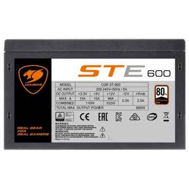 Блок питания COUGAR STE600 600W