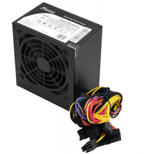 Блок питания 500W PowerMan PM-500ATX-F-BL Black