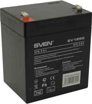 Аккумулятор Батарея Sven SV12-5 (SV1250)
