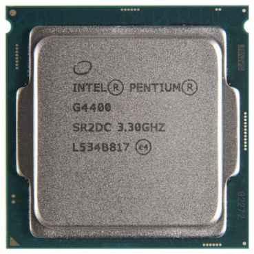 Процессор Intel Pentium G4400 Skylake (3300MHz, LGA1151, L3 3072Kb) OEM