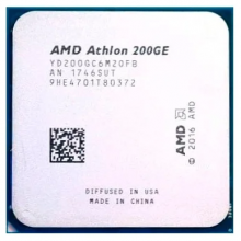 Процессор AMD Athlon 200GE