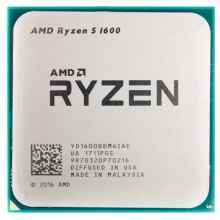 Процессор AMD Ryzen 5 1600 Summit Ridge (AM4, L3 16384Kb) OEM