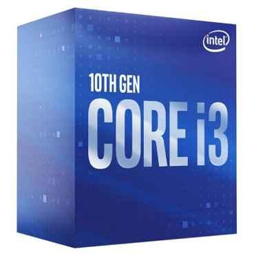 Процессор Intel Core i3-10100F, BOX