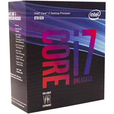 Процессор Intel Core i7-8700K Coffee Lake (3700MHz, LGA1151, L3 12288Kb) BOX