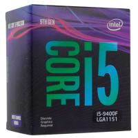Процессор Intel Core i5-9400F Coffee Lake (2900MHz, LGA1151 v2, L3 9216Kb) BOX