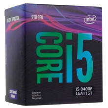 Процессор Intel Core i5-9400F Coffee Lake (2900MHz, LGA1151 v2, L3 9216Kb) BOX
