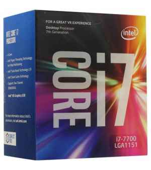 Процессор Intel Core i7-7700 Kaby Lake (3600MHz, LGA1151, L3 8192Kb) BOX
