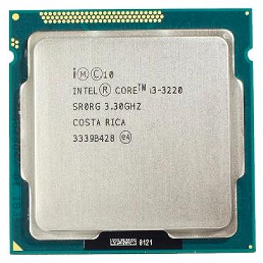 Процессор Intel Core i3-3220 Ivy Bridge (3300MHz, LGA1155, L3 3072Kb) (Уценка)