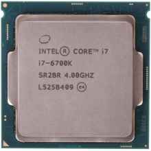 Процессор Intel Core i7-6700K Skylake (4000MHz, LGA1151, L3 8192Kb) OEM