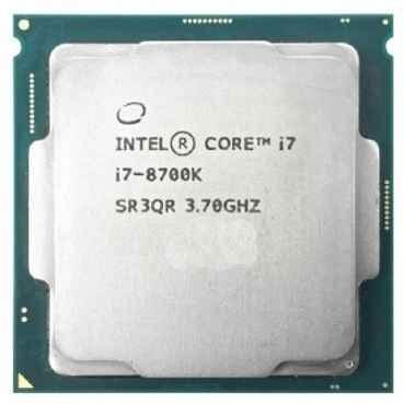 Процессор Intel Core i7-8700K Coffee Lake (3700MHz, LGA1151 v2, L3 12288Kb) OEM