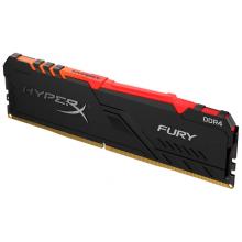 Оперативная память HyperX Fury RGB 16GB DDR4 3200MHz DIMM 288-pin CL16 HX432C16FB4A/16