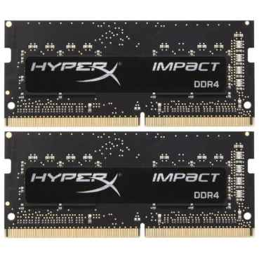 Оперативная память 32Gb DDR4 SODIMM Kingston HyperX HX432S20IBK2/32 (2x16Gb)