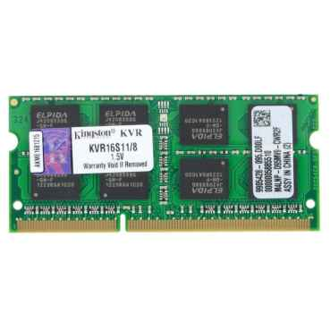 Модуль памяти SO-DDR3 Kingston 8Gb PC12800 KVR16S11/8