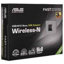Asus Беспроводной USB 2.0 адаптер 150Мбит/с USB-N10 NANO