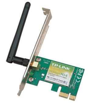 TP-Link Беспроводный PCI Express адаптер TL-WN781ND, 150Мбит/с