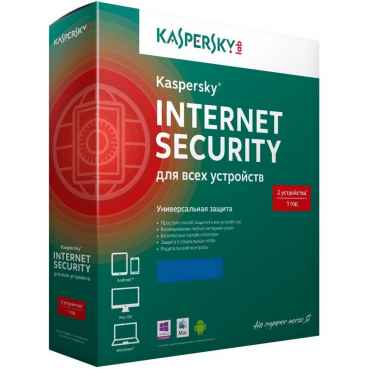 Антивирус Kaspersky Internet Security Multi-Device, на 2 ПК, на 1 год