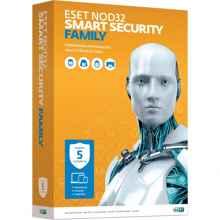 Антивирус Eset NOD32 Smart Security Family лицензия на 5ПК на 1 год