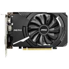 Видеокарта MSI GeForce GTX 1650 SUPER 1740MHz PCI-E 3.0 4096MB 12000MHz 128 bit DVI HDMI DisplayPort HDCP AERO ITX OC