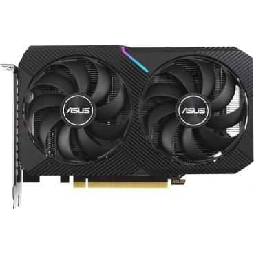 Видеокарта Asus GeForce RTX 3060 Ti Dual Mini LHR (DUAL-RTX3060TI-8G-MINI-V2)