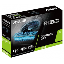 Видеокарта ASUS Phoenix GeForce GTX 1650 OC 4GB (PH-GTX1650-O4GD6-P)