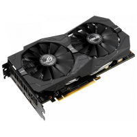 Видеокарта ASUS ROG GeForce GTX 1650 1485MHz PCI-E 3.0 4096MB 8002MHz 128 bit 2xDisplayPort 2xHDMI HDCP Strix Gaming Advanced