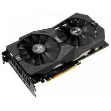 Видеокарта ASUS ROG GeForce GTX 1650 1485MHz PCI-E 3.0 4096MB 8002MHz 128 bit 2xDisplayPort 2xHDMI HDCP Strix Gaming Advanced
