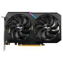 Видеокарта ASUS DUAL GeForce RTX 2070 1410MHz PCI-E 3.0 8192MB 14000MHz 256 bit DVI HDMI DisplayPort HDCP OC MINI