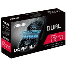 Видеокарта ASUS DUAL Radeon RX 5500 XT EVO OC 8GB