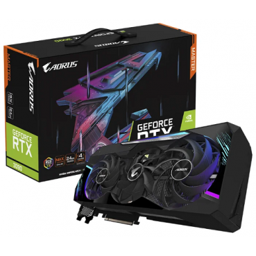 Видеокарта GIGABYTE AORUS GeForce RTX 3090 MASTER 24G (GV-N3090AORUS M-24GD)