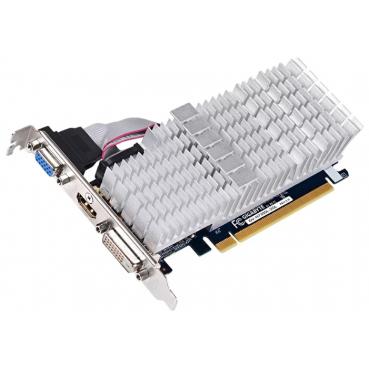 Видеокарта GIGABYTE GeForce GT 730 902Mhz PCI-E 2.0 2048Mb 1800Mhz 64 bit DVI HDMI HDCP Silent