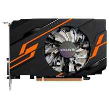 Видеокарта GIGABYTE GeForce GT 1030 1290Mhz PCI-E 3.0 2048Mb 6008Mhz 64 bit DVI HDMI HDCP OC GV-N1030OC-2GI