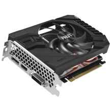 Видеокарта Palit GeForce GTX 1660 Ti 1500MHz PCI-E 3.0 6144MB 12000MHz 192 bit DVI HDMI HDCP StormX