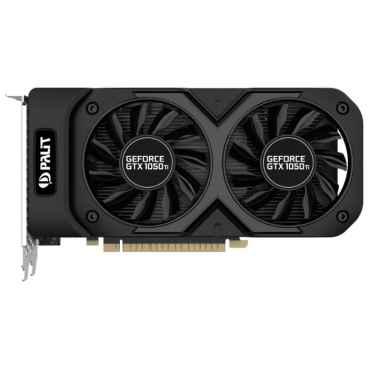 Palit GeForce GTX 1050 Ti 1290Mhz PCI-E 3.0 4096Mb PA-GTX1050TI DUAL