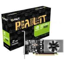 Видеокарта Palit GeForce GT 1030 1227MHz PCI-E 3.0 2048MB 6000MHz 64 bit DVI HDMI HDCP Low Profile PA-GT1030-2GD5